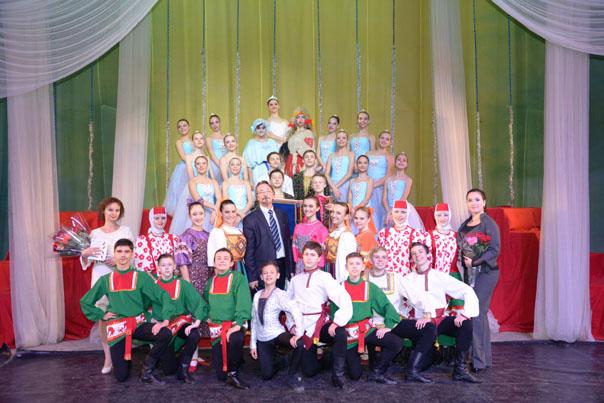 Юные хореографы дали клятву Терпсихоре и отказались от... конфет