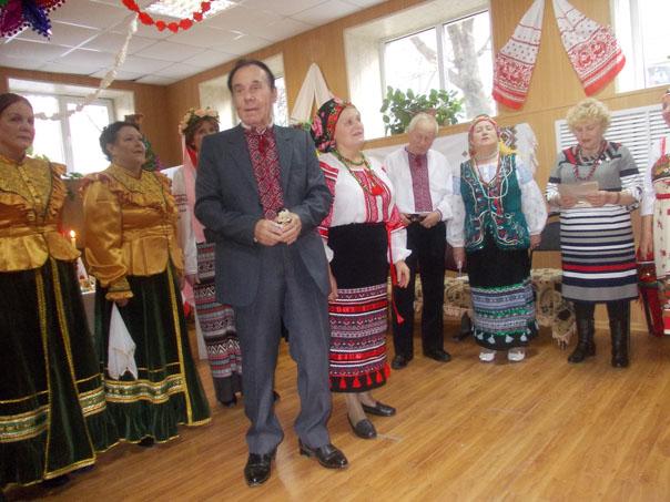 Рождественские колядки звучали в «Днипро»