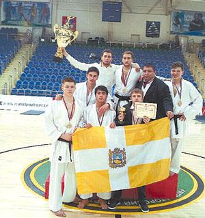 Кубок России приехал в Ставрополь