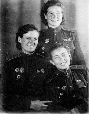 Гвардии подполковник Евдокия