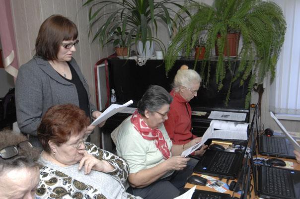 Бабушки и дедушки теперь онлайн