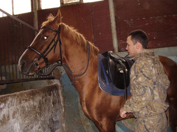 Кто не падал с лошади, тот не ездил