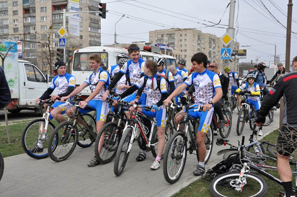 Велоспорт всерьез
