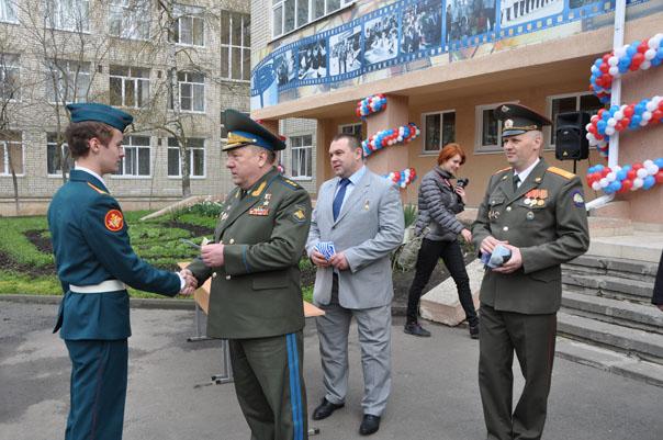 Приписные свидетельства из рук Героев России
