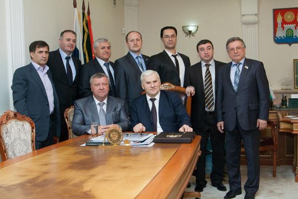Ставропольская делегация посетила Махачкалу