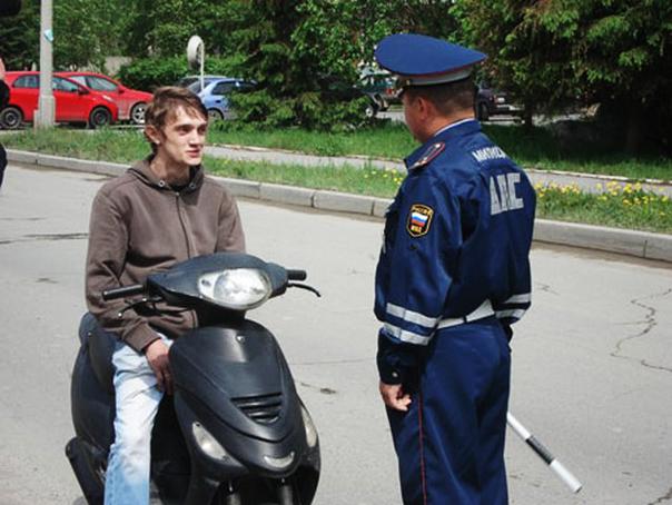Осторожно, мотоцикл!