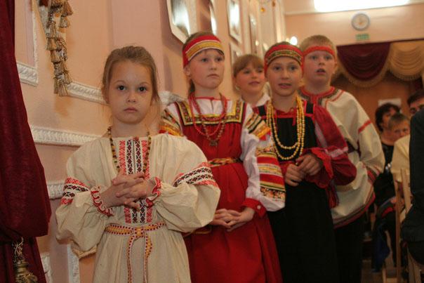 Детские голоса в общем хоре народной культуры