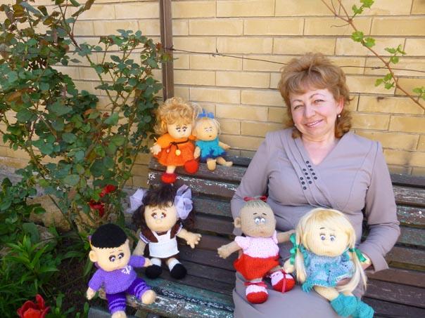 Мастер  и ее кукольные «дети»