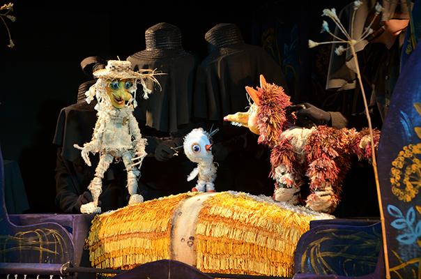 Завершились «восточные» гастроли театра кукол