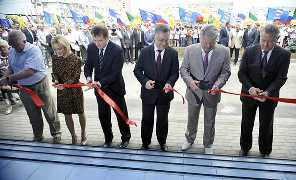 В Невинномысске открыт ледовый дворец