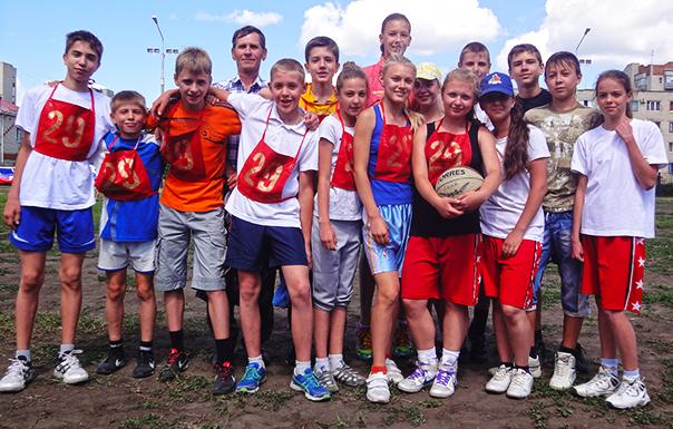Лето спортивное