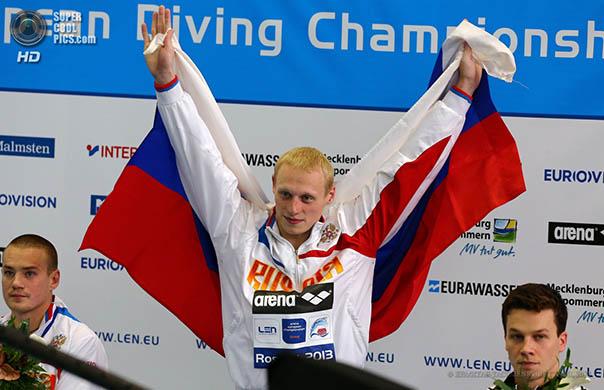 Медали всех достоинств завоевал на чемпионате Европы по прыжкам в воду ставрополец Евгений Кузнецов