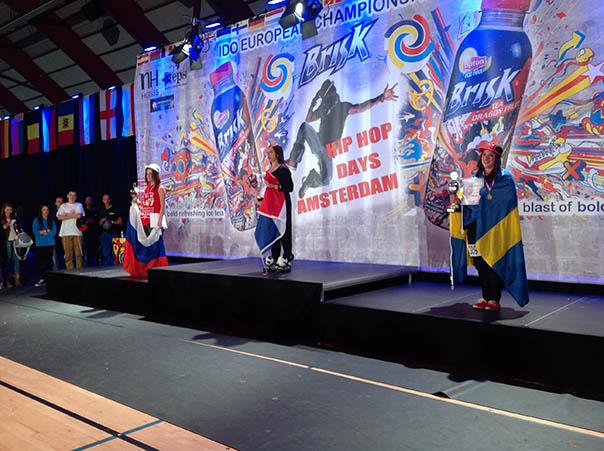 Городская студия «Just Dance» заявила о себе на чемпионате Европы