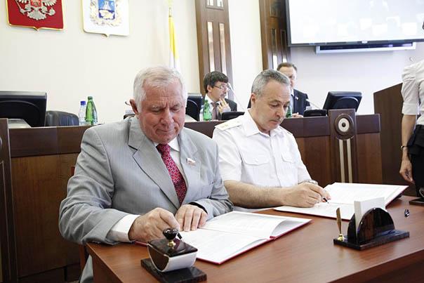 Депутаты подвели итоги полугодия