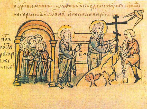 Что заставило язычников  обратиться  в христианскую веру?..