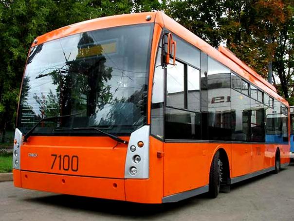 Тестовый троллейбус