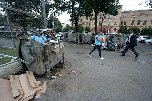 Утро в центре Ставрополя