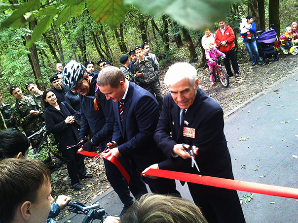 В Ставрополе открыли Тропу здоровья