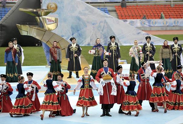 Северный Кавказ – территория мира, спорта, культуры и дружбы