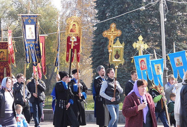 Ставропольцы прошли крестным ходом
