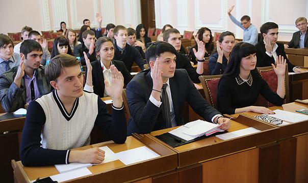 Первая встреча молодых парламентариев