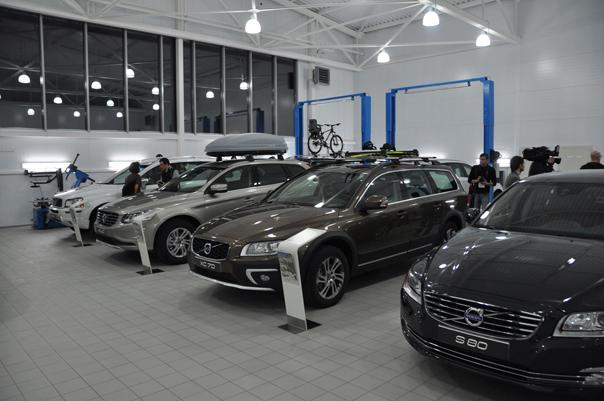 Новая концепция Volvo в морозном Ставрополе