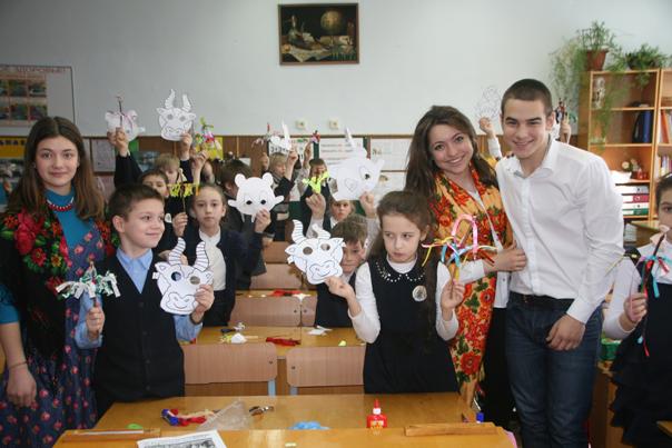 В гимназии прошли «святочные уроки»