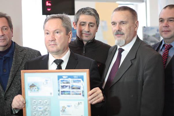 В Ставрополе состоялось памятное гашение почтовой продукции, посвященной эстафете олимпийского огня