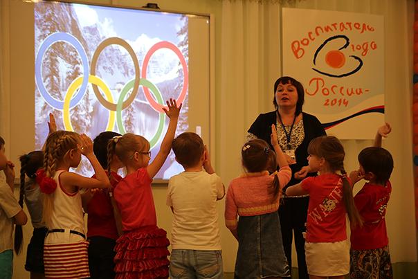 Репортаж об Олимпиаде из... детского сада