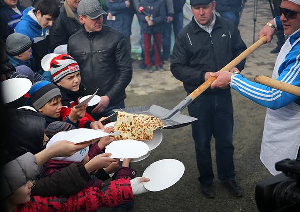 Ставропольцы проводили зиму