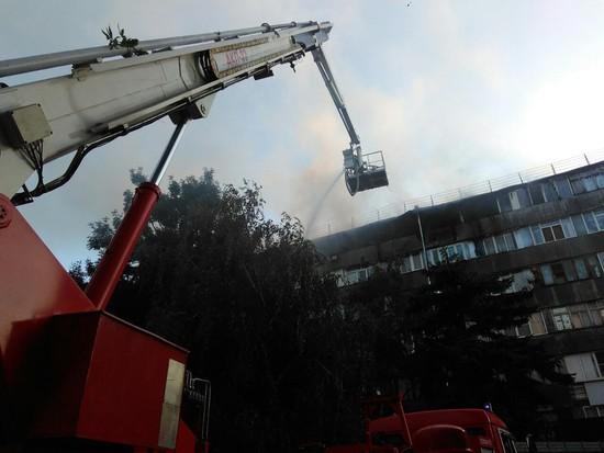 ВЕссентуках начали проверку пофакту пожара вжилом доме