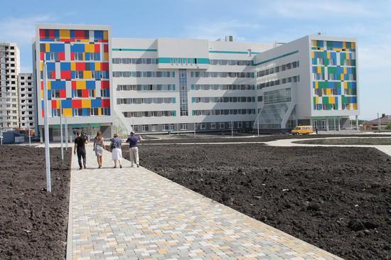 Строительство новоиспеченной больницы вЮго-Западном районе Ставрополя окончено на90%
