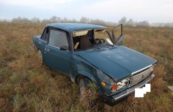 НаСтаврополье шофёр исчез сместа ДТП, оставив вавтомобиле травмированного пассажира