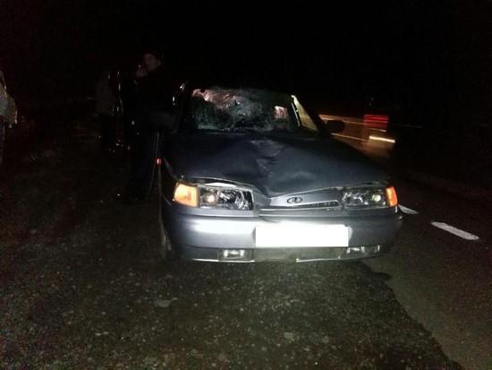 НаСтаврополье пешеход умер под колесами иномарки
