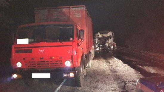 Два фургона столкнулись наСтаврополье