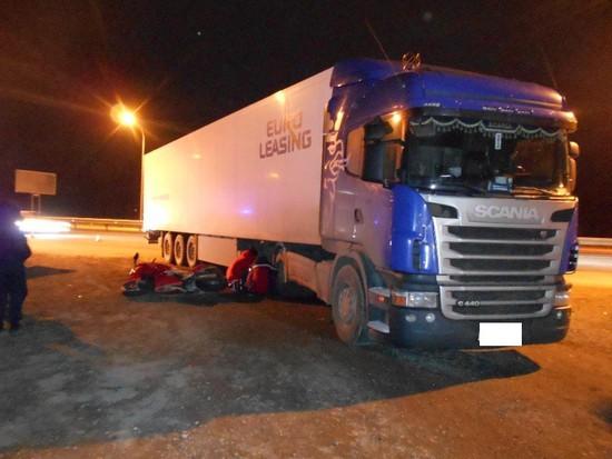 НаСтаврополье мотоциклист умер при столкновении сфурой