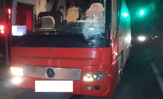 НаСтаврополье под колёсами автобуса «Грозный-Краснодар» умер мужчина