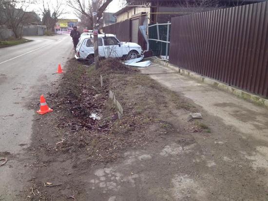 ВНевинномысске «Нива» сбила нетрезвого пешехода