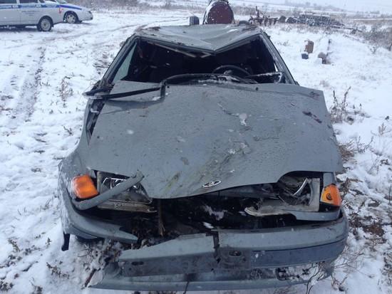 Нетрезвый шофёр бросил раненого пассажира наместе ДТП наСтаврополье