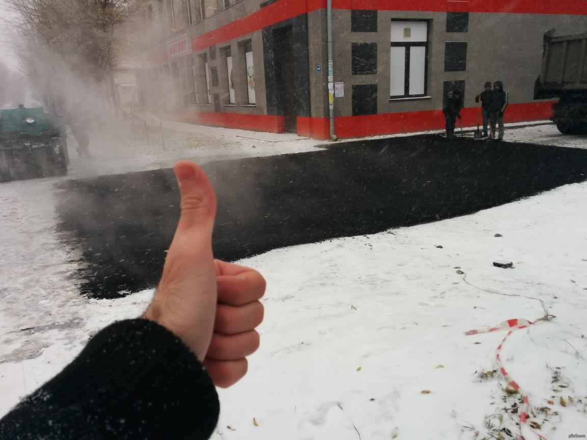 Картинки по запросу укладка дороги в снег
