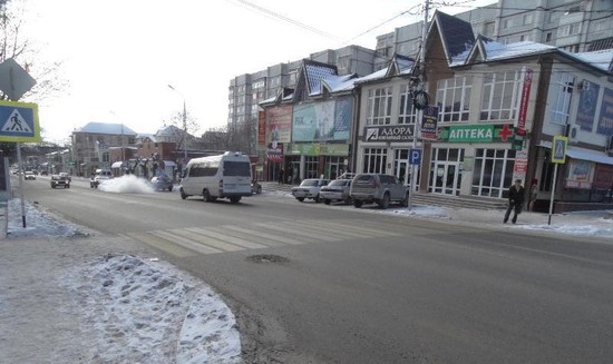 Шофёр сбил пешехода на«зебре» вЕссентуках и исчез