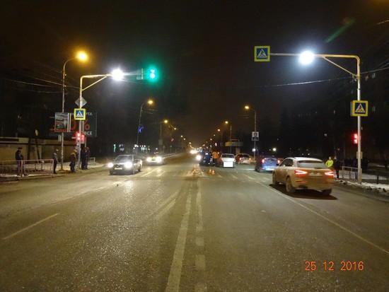 ВГеоргиевске иностранная машина насмерть сбила пешехода— нарушителя