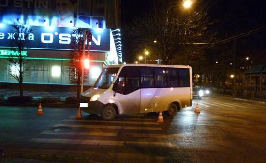 Шофёр «ГАЗели» вСтаврополе сбил женщину напешеходном переходе