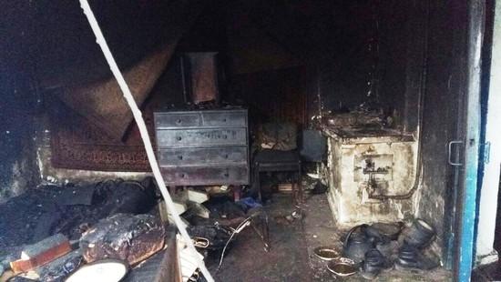 Вхуторе Весёлом Минераловодского округа сгорел человек