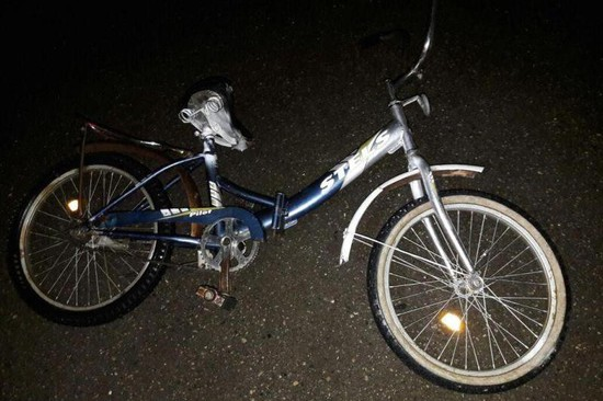 НаСтаврополье шофёр легковушки сбил велосипедиста