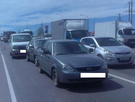 НаСтаврополье втройном ДТП умер 67-летний шофёр иномарки