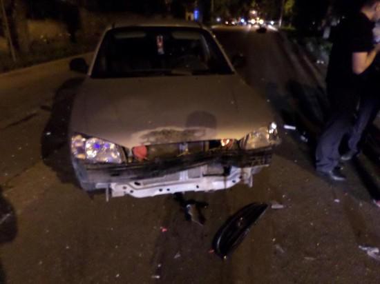ВЕссентуках автомобильный «поцелуй» привёл к смерти водителя
