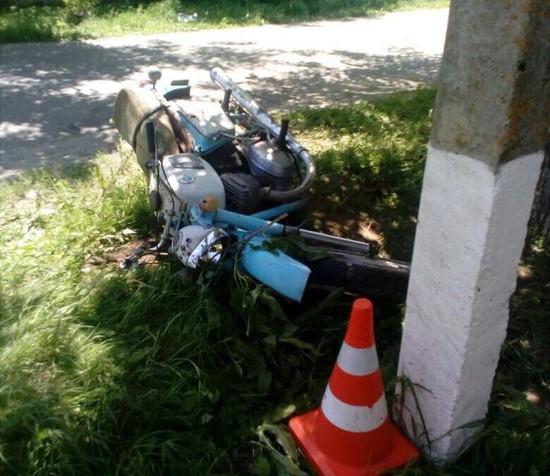 НаСтаврополье ребенок намотоцикле разбился насмерть, влетев вдерево