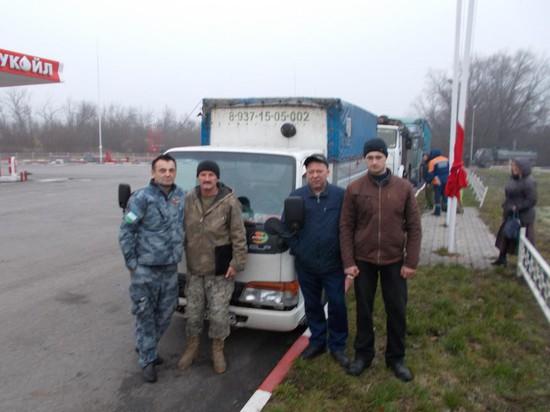"""На границе. """"Русские витязи"""" с ветеранами Афганистана из Башкирии."""