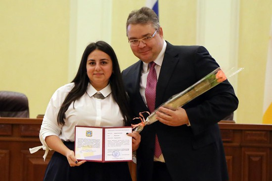 НаСтаврополье 87 студентов стали владельцами губернаторской стипендии